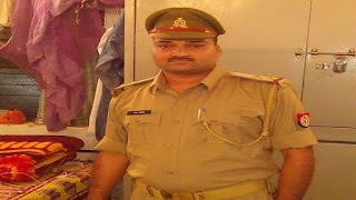 Inspector of Chaubepur police station Vinay Tiwari suspended