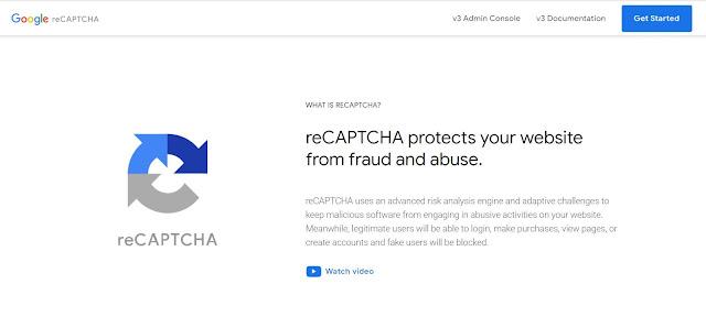 Como configurar el  reCAPTCHA en tu sitio web o formulario de contacto