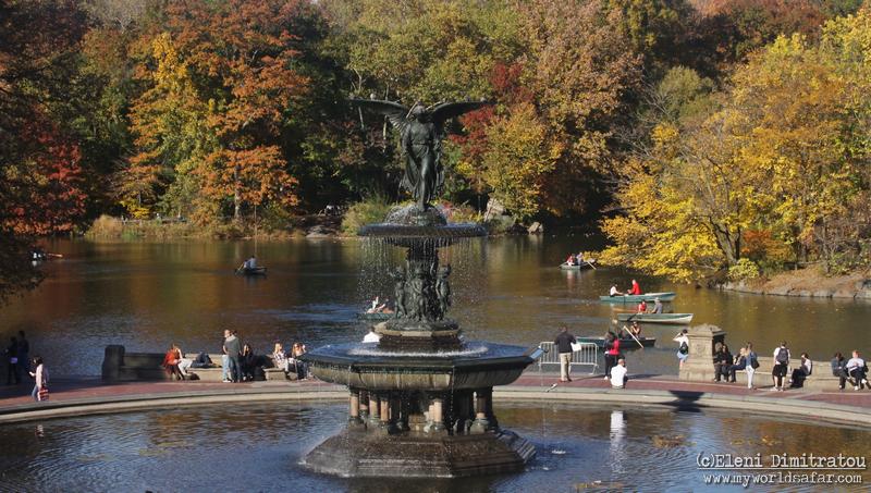 συντριβάνι στο Central Park, ελένη δημητράτου