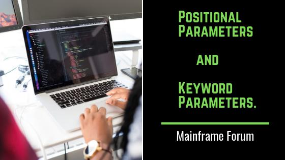 Keyword Parameters.