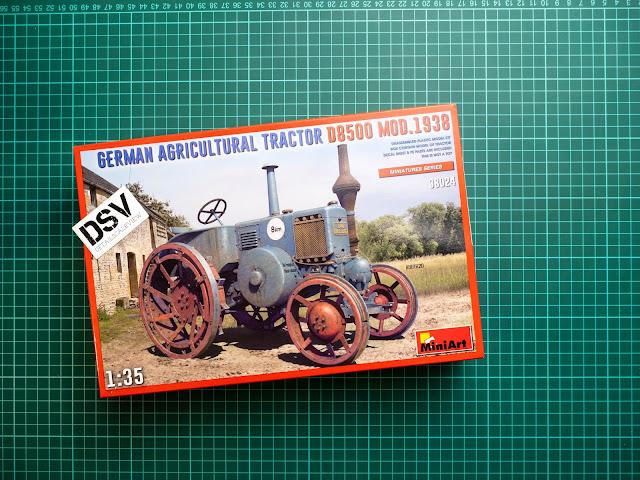 Miniart D8500 Tractor Box
