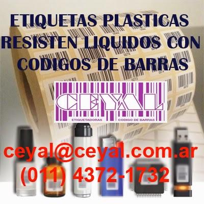 Retiro BsAs Arg etiquetas fasco precio - articulo - codigo