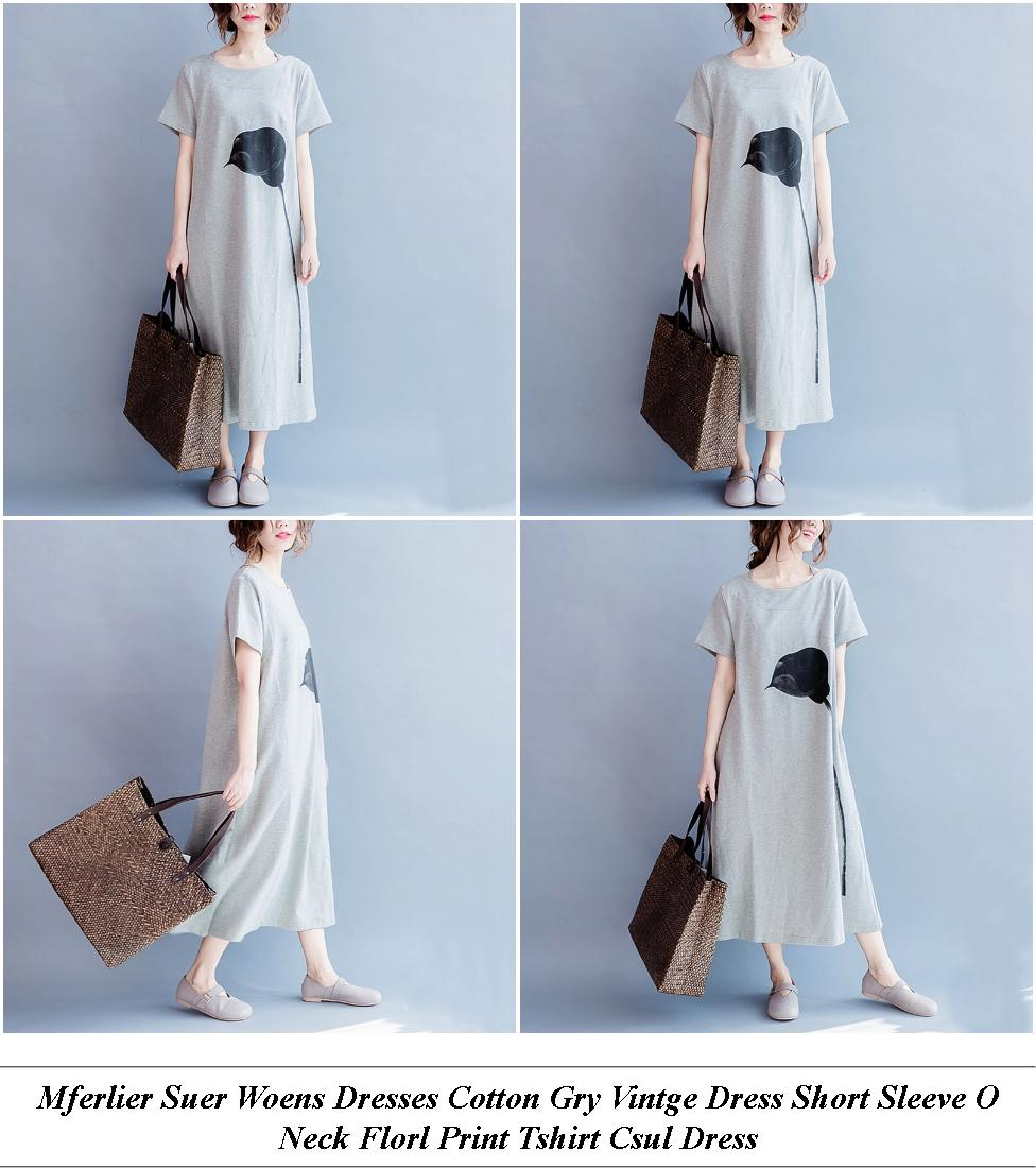 Short White Formal Dresses Australia - Laor Day Sale - A Line Dress With Sleeves White