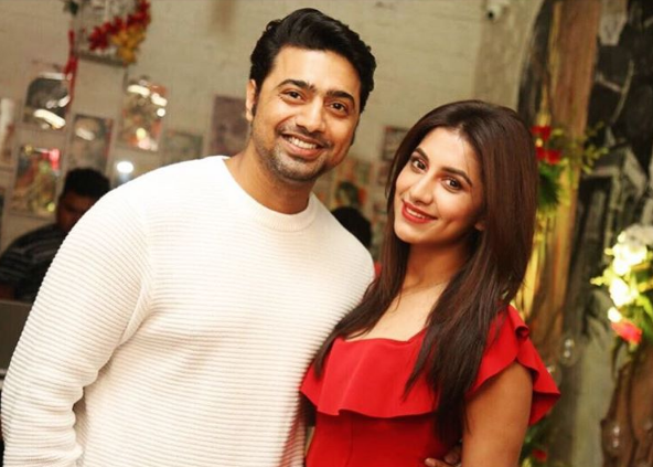 Rukmini Maitra with Dev