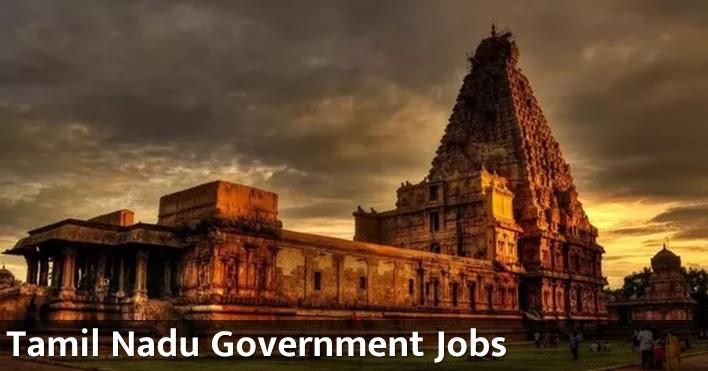 Apply Online for latest Tamil Nadu Govt Jobs