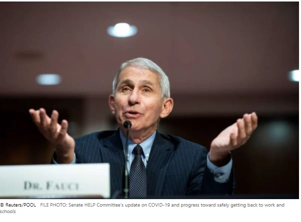 Fauci says his remarks have been taken' out of context in Trump's ad