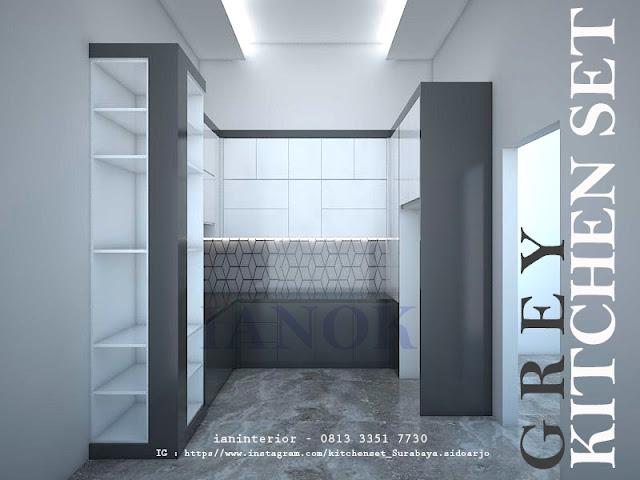 kichen set PVC surabaya desain terbaru