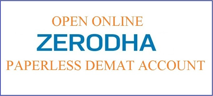 How to open paperless Zerodha Demat and Trading account online?