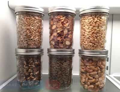 cara menyimpan kacang di kulkas