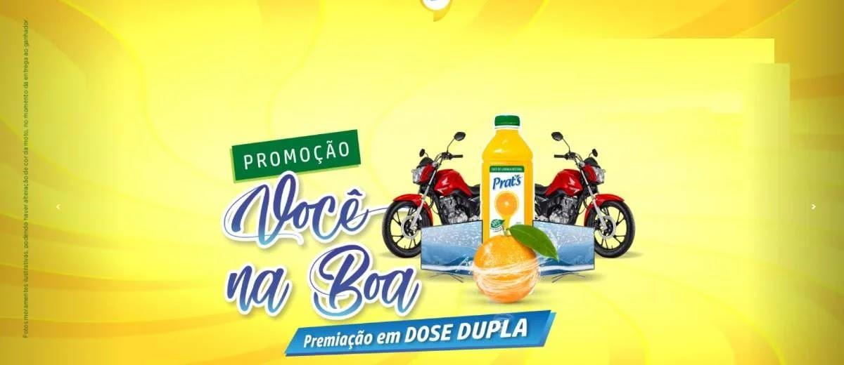 Promoção Prats Suco 2020 - Motos 0KM