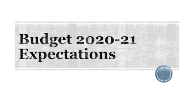 Budget 2020-21 Expectations
