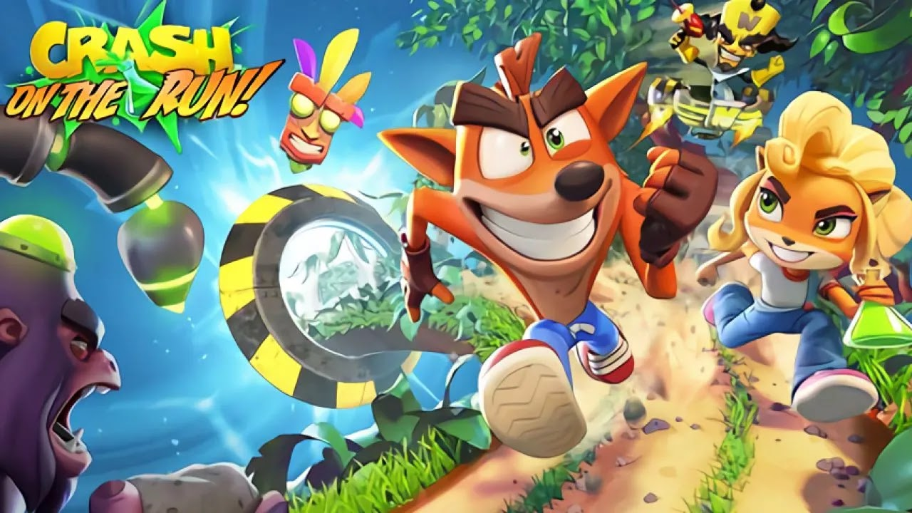 تقديم معلومات عن لعبة Crash Bandicoot: On the Run!