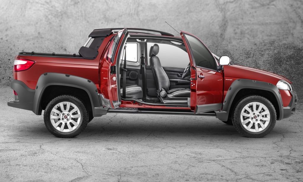 Lanzamiento fiat strada 2014 autoblog uruguay - Fiat strada doble cabina ...