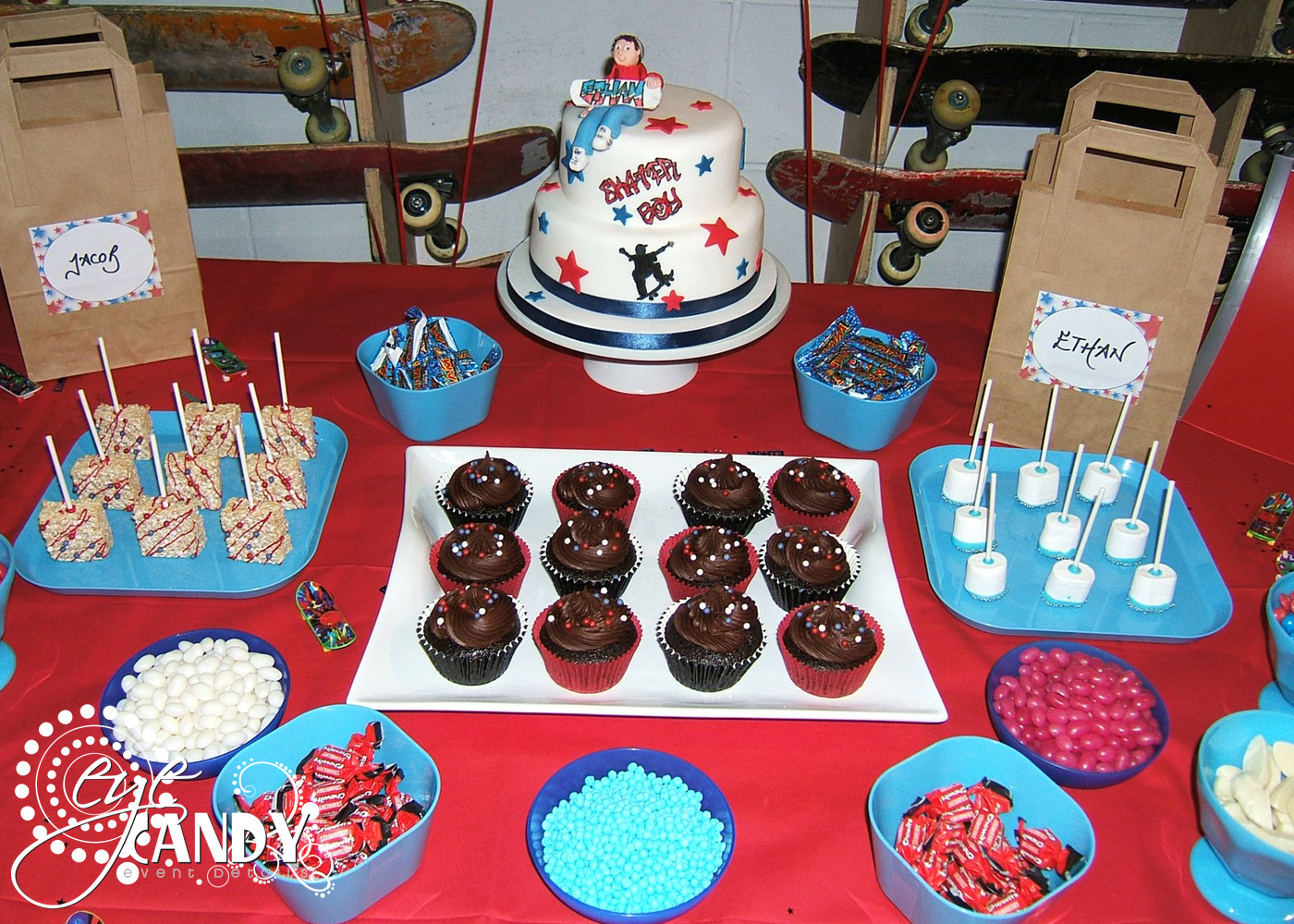 eye candy creative studio client party boys skater party pack