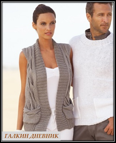 knitting-vest | kamіzelka-prutkamі | jilet-spicyami