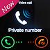 اخفاء رقمك عند الاتصال برنامج Hide Phone Number للاندرويد