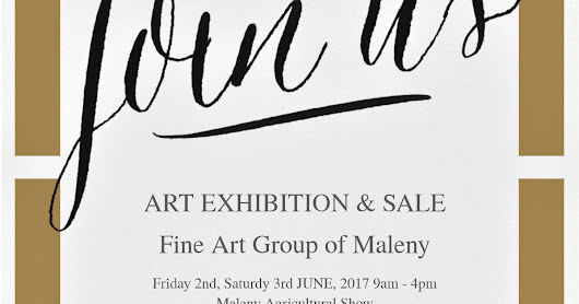 ART SHOW AT MALENY SHOW 2017