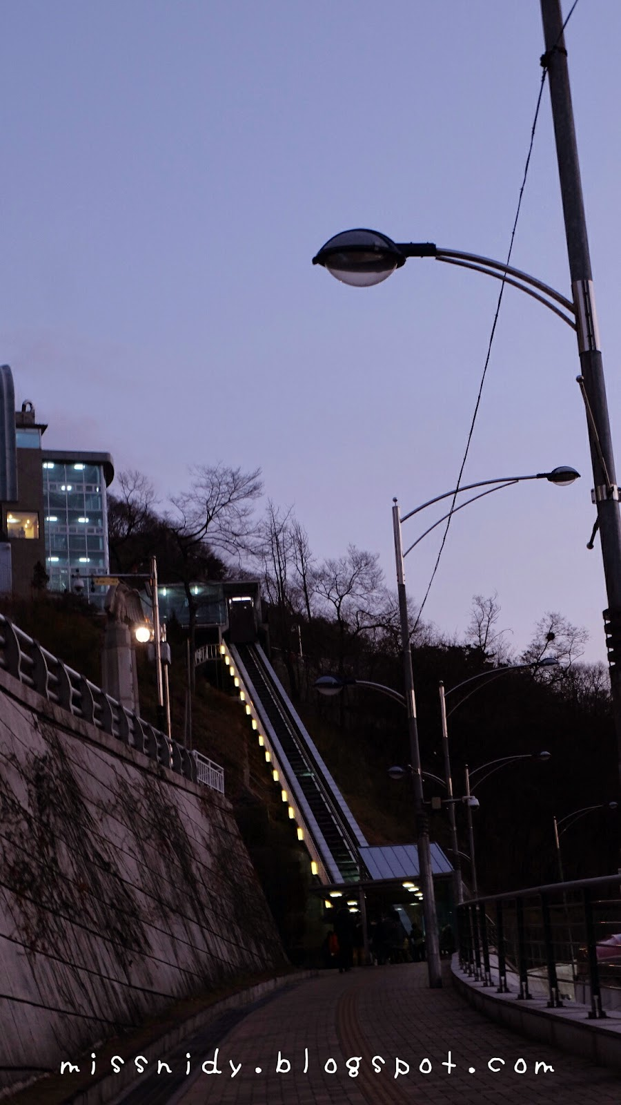cara termudah menuju namsan tower seoul