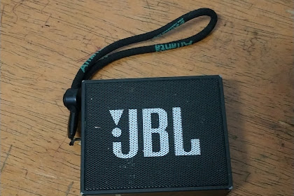 Cara terbaru atau trick jitu resset Spiker portable JBL GO, Bluetooth sering putus nyambung dan indikator merah berkedip