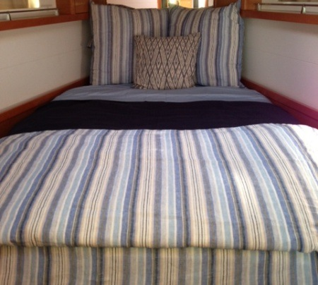Yachtbedding Com Custom Boat Sheets And Bedding