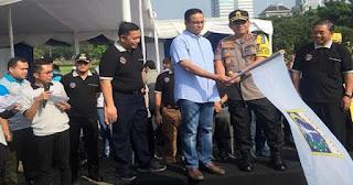 Pertama Kalinya!! Gubernur Anies Berangkatkan Ribuan Warga Mudik Gratis