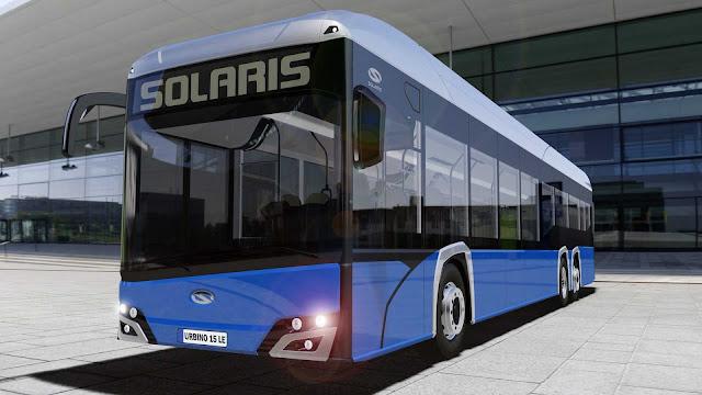 Tampilan Depan Solaris Urbino