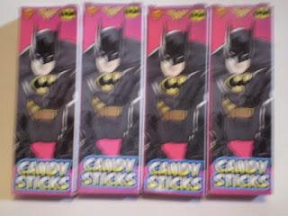 Front of Batman Candysticks box version 2