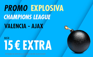 suertia promo champions Valencia vs Ajax 2-10-2019