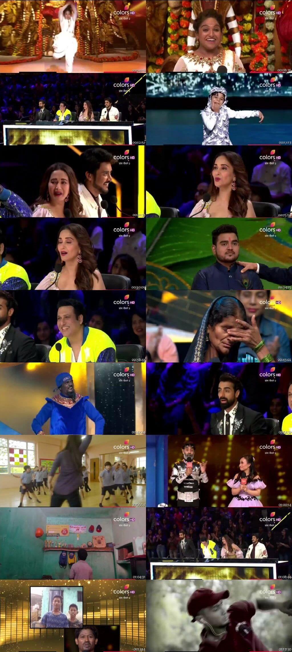 Screenshots Of Hindi Show Dance Deewane 2 29th June 2019 Episode 05 300MB 480P HD