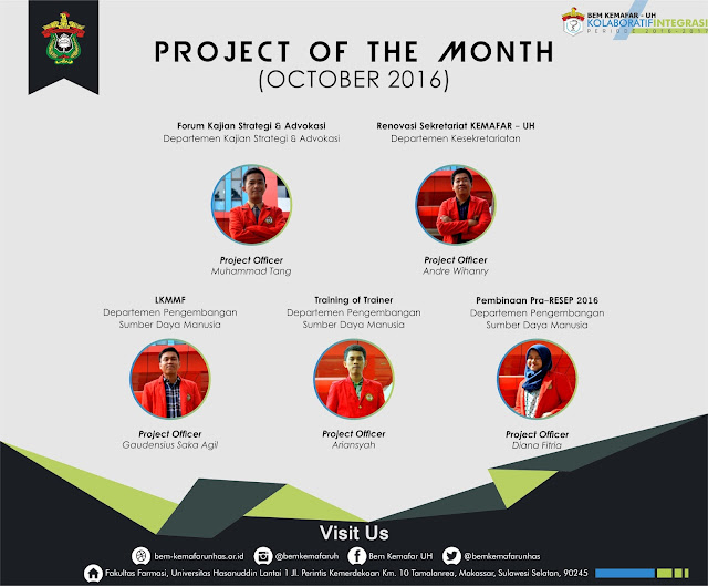 [Agenda] Project Of The Month