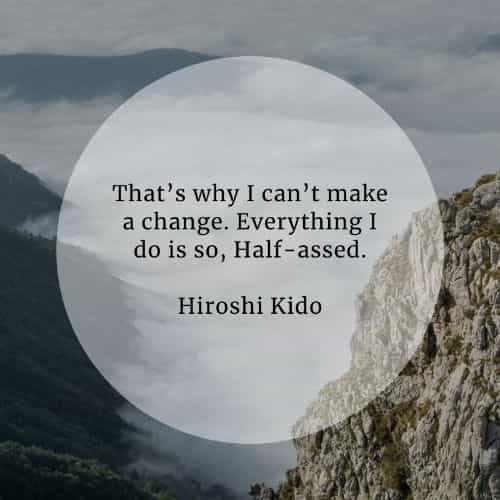Anime quotes about life from the main protagonists