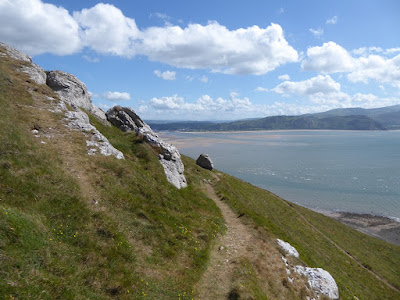 Great Orme - western side, looking south west towards Conwy