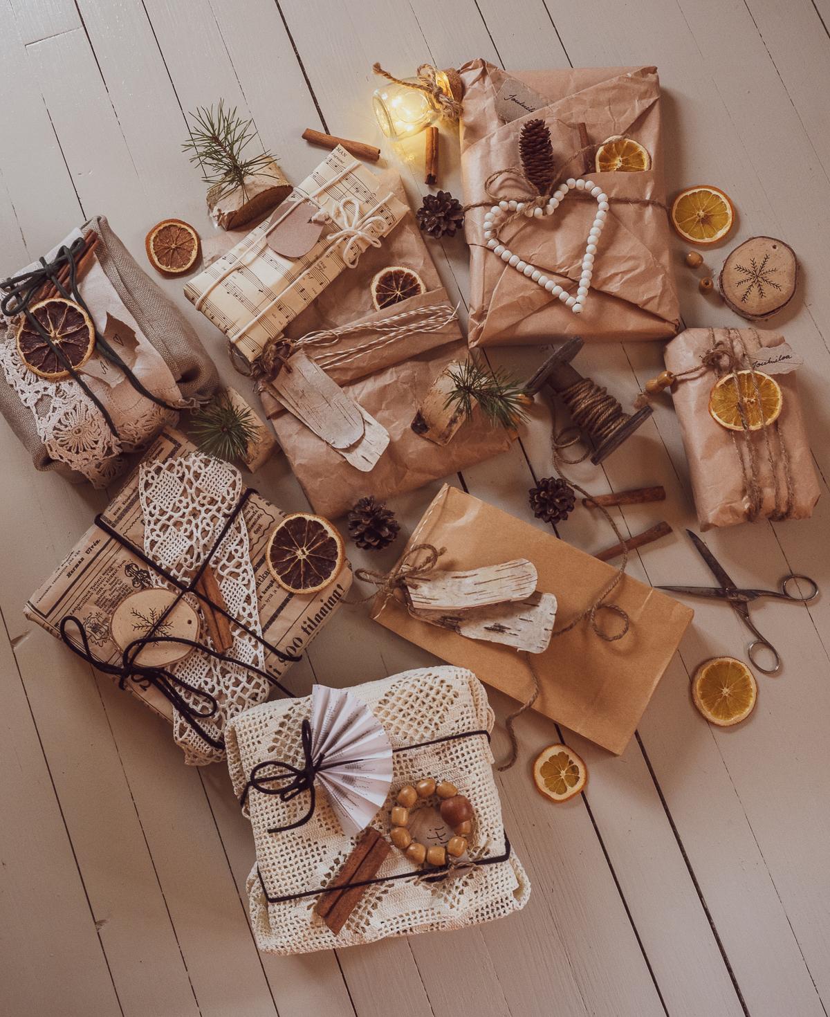 vinkkejä ekologiseen paketointiin
