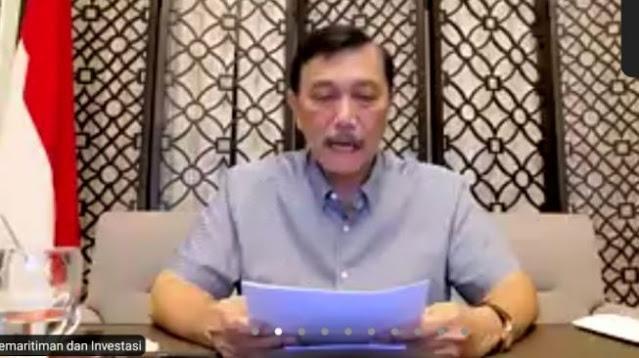 PPKM Darurat Belum Optimal, Luhut: Saya Minta Maaf kepada Seluruh Rakyat Indonesia