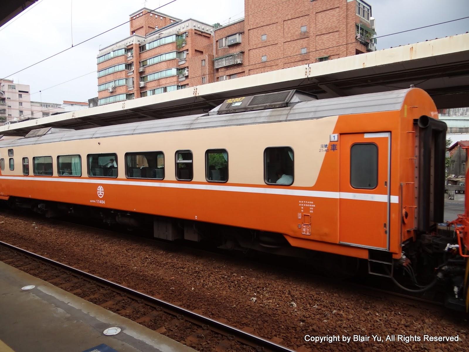 Blair's 鐵道攝影: 35FPK11400型莒光號客車車廂