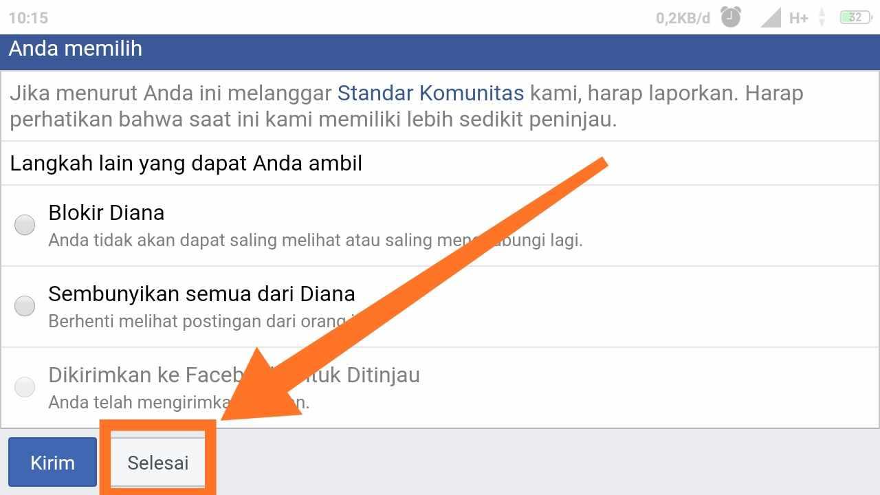Kata permintaan maaf karena FB di hack