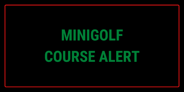 There's a minigolf course at Laser Quest Derby