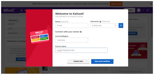 Panduan Penggunaan Kahoot 6