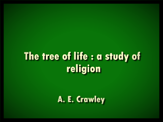 The tree of life: a study of religionThe tree of life: a study of religion