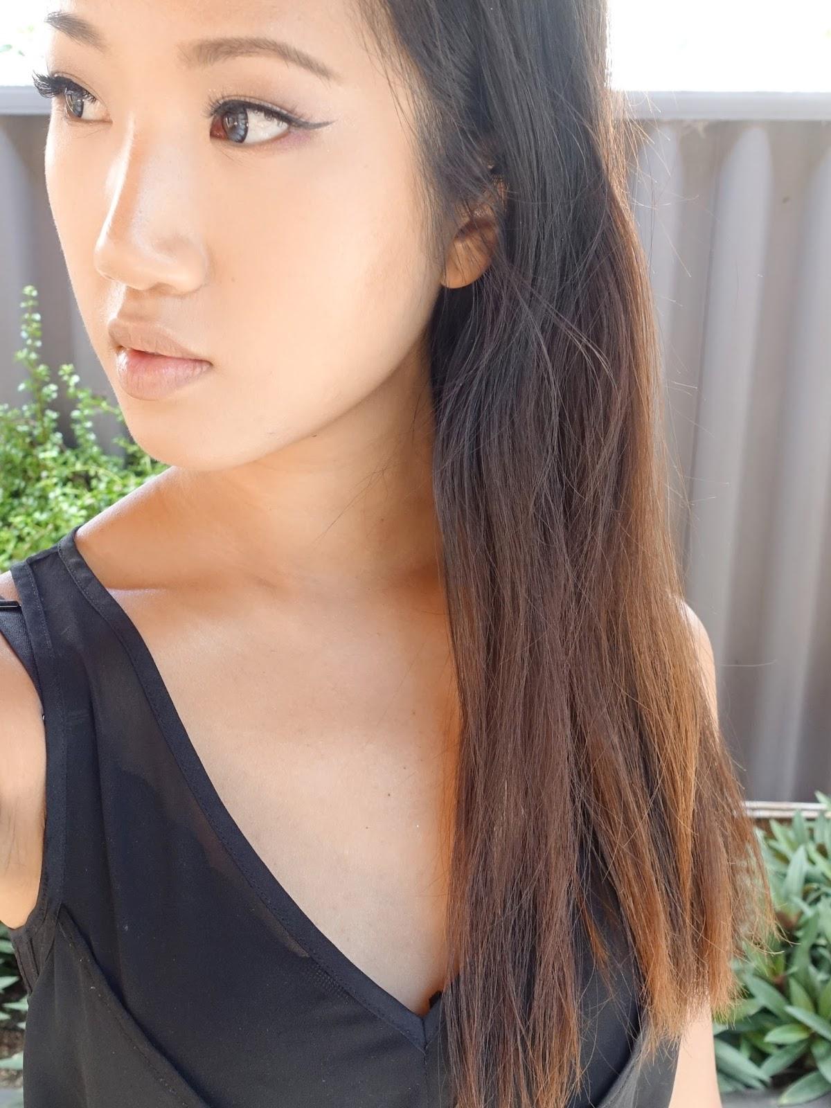 KimKinecom LUSH Caca Brun Henna Hair Dye Review - Hair colour asian