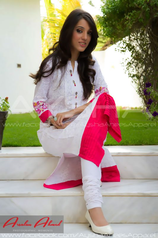 3b8250f3ebf9 Ayesha Anees is an new fashion article of vesture whole of monotheism  Republic of Islamic Republic of Pakistan that has started its add the  sphere of ...