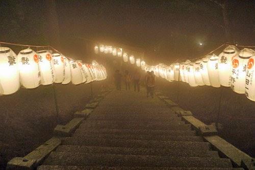 Climbing Mount Atago Kyoto.