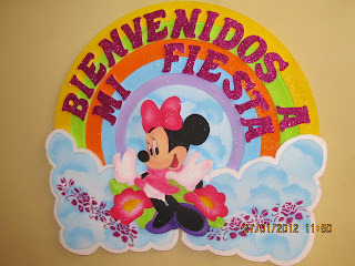 DECORACION MINNIE MOUSE 4 FIESTAS INFANTILES RECREACIONISTAS MEDELLIN