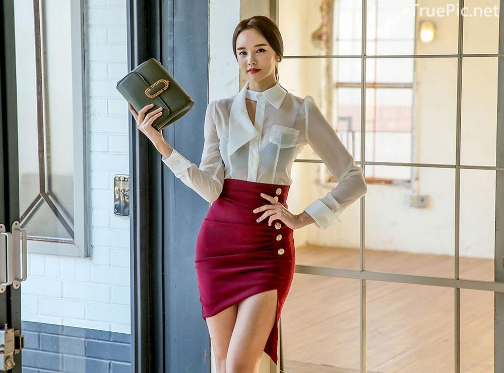 Korean Fashion Model - Chloe Kim - Indoor Photoshoot Collection - TruePic.net - Picture 6