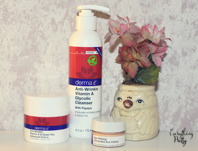 derma e skin care is natural, vegan, and gluten free.  Save with a coupon code and enter the giveaway.