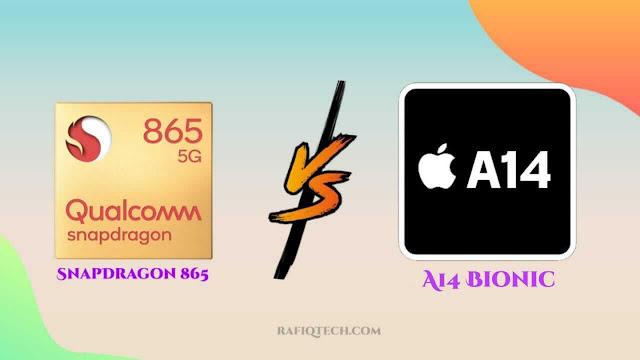 مقارنة بين معالج كوالكوم Snapdragon 865 و معالج ابل  A14 Bionic