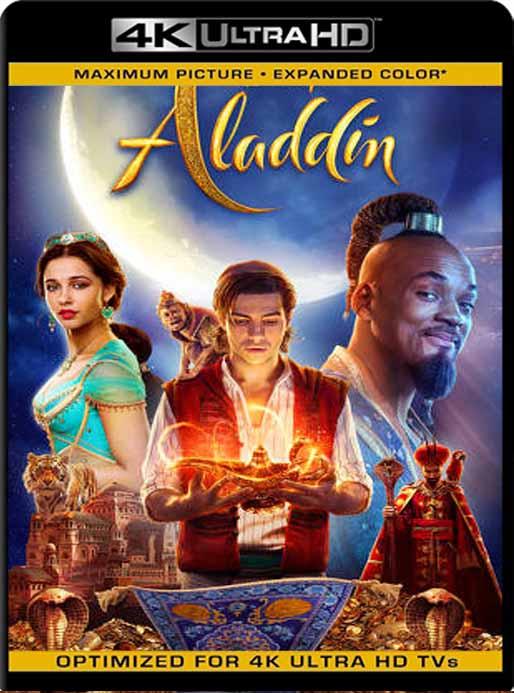 Aladdin (2019)  4K 2160p UHD [HDR] Latino [GoogleDrive]