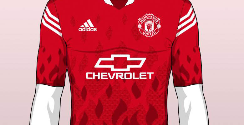 official photos abad6 8339c Bold Manchester United Concept Kit by Franco - Footy Headlines