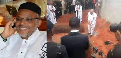 Here's What Happened Between 10 days Nnamdi Kanu Spent in Nigeria For His Parents Burial,  Yet No Security See Him