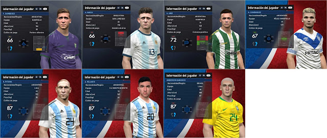 PES 2017 Referees and Players Pack by Luciano Facemaker